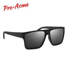 ba4f67c719 Pro Acme Ultra-Léger lunettes de Soleil Polarisées Hommes Carré lentille  miroir lunettes de soleil Mâle Voyage de Conduire lunet.
