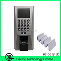 Biometric Linux System Fingerprint Access Control And Time Attendance F18 Fingerprint Door Entry System With RFID Card Reader