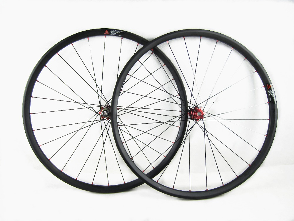 free shipping Carbon MTB wheels Cheap MTB wheels bike wheels 26er 27.5er 29er MTB wheel 27 5er mtb wheels width 35mm carbon mtb wheels novatec 791 792 thur axle 650b mountain bikes bicycle mtb wheels
