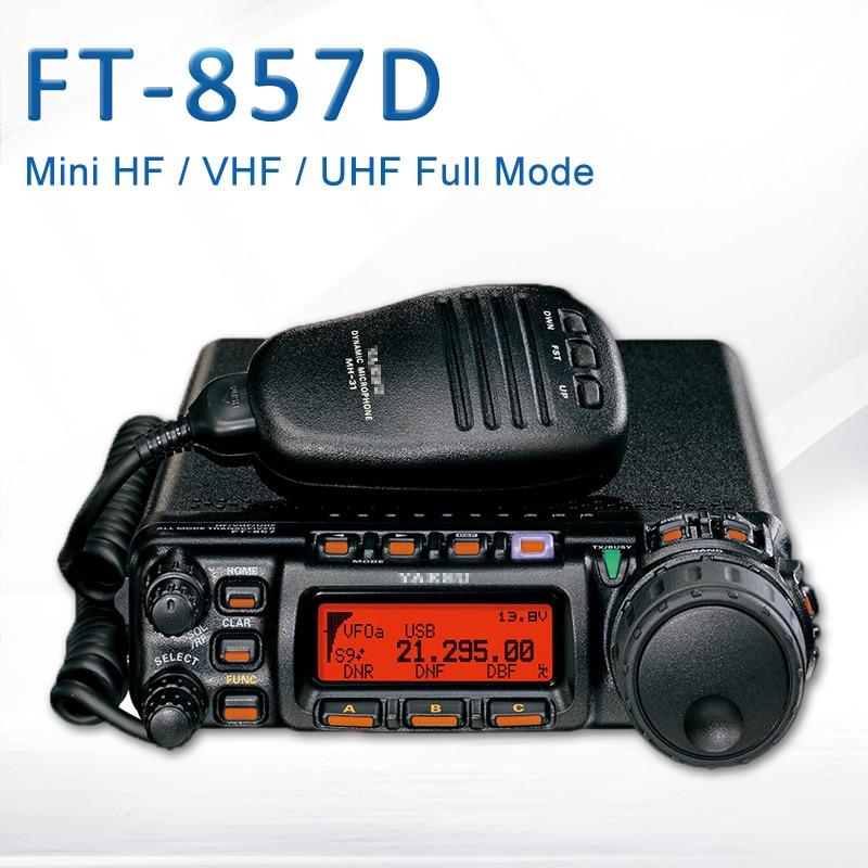 Transceiver Car-Radio Yaesu Ft-857d Shortwave Dual-Band Portable Mini The Full-Mode