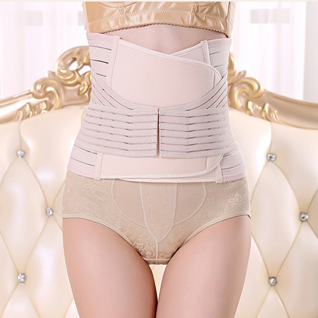 Postpartum Double Velcro Belt