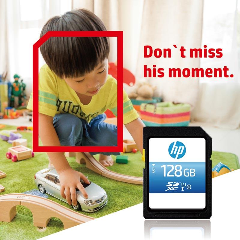 HP SD Card 128GB microSDXC Memory Card U1 Class10 4K 90MBS SD Kaart cartao de memoria Flash Stick Camera Carte Micro sd 128 gb (3)