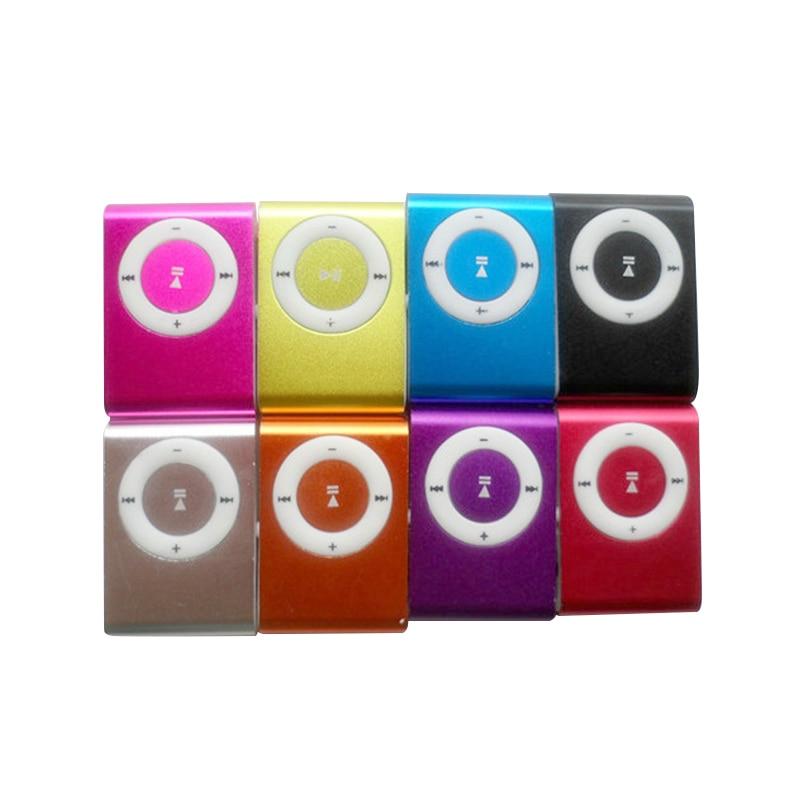 Metal mp3 Player MINI Clip action MP3 Player Micro TF/SD