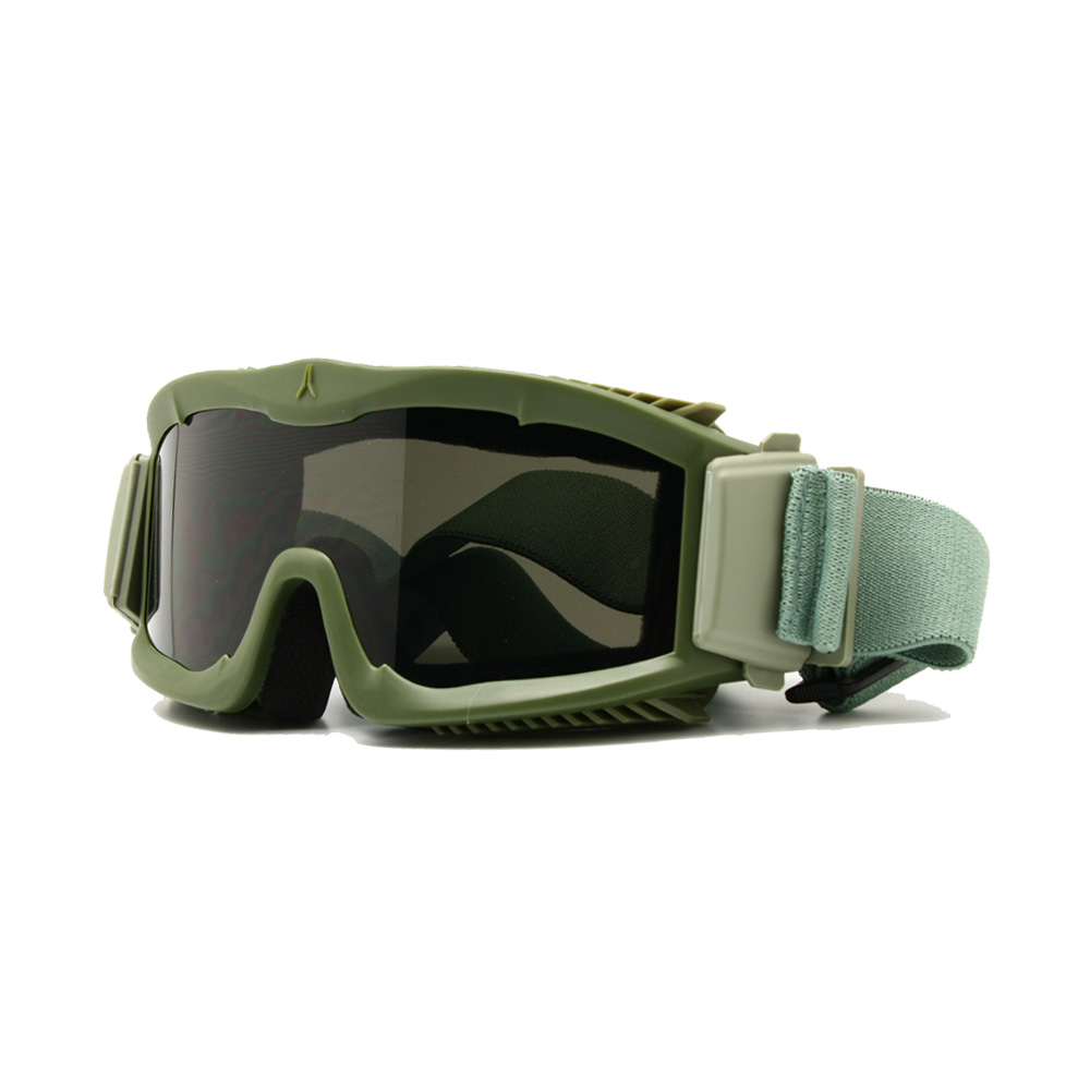 Männer Ballistic Military 3 Objektiv Alpha Brille, US Tactical Army Sunglasses Helm Brille bewaffnete Brille