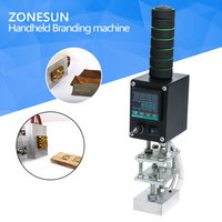 5 7cm 200W Hot Foil Stamping Machine Leather Cake Branding Machine Wood Embossing Machine Electric Soldering