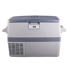 Smad DC 12 V/AC 110 V/220 V Mini Coche Camión Refrigerador 49L R134a Compresor de Gran Capacidad barco RV Nevera Congelador A + +