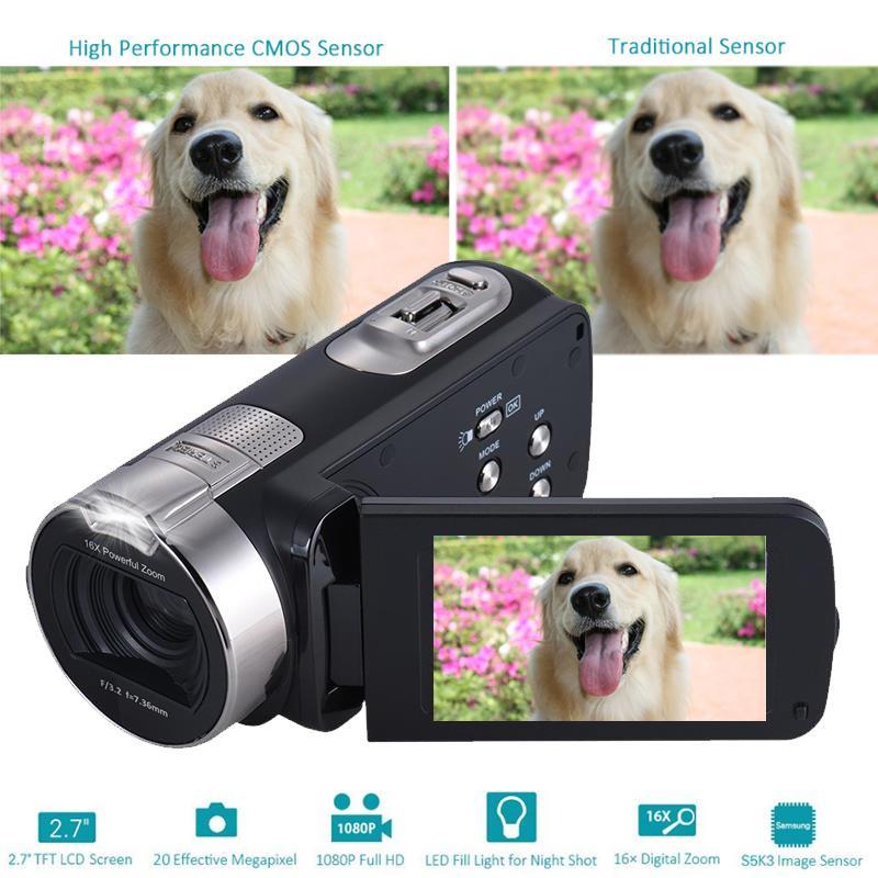 Gizcam 2.7 դյույմ 1080P HD թվային տեսախցիկ - Տեսախցիկ և լուսանկար - Լուսանկար 4
