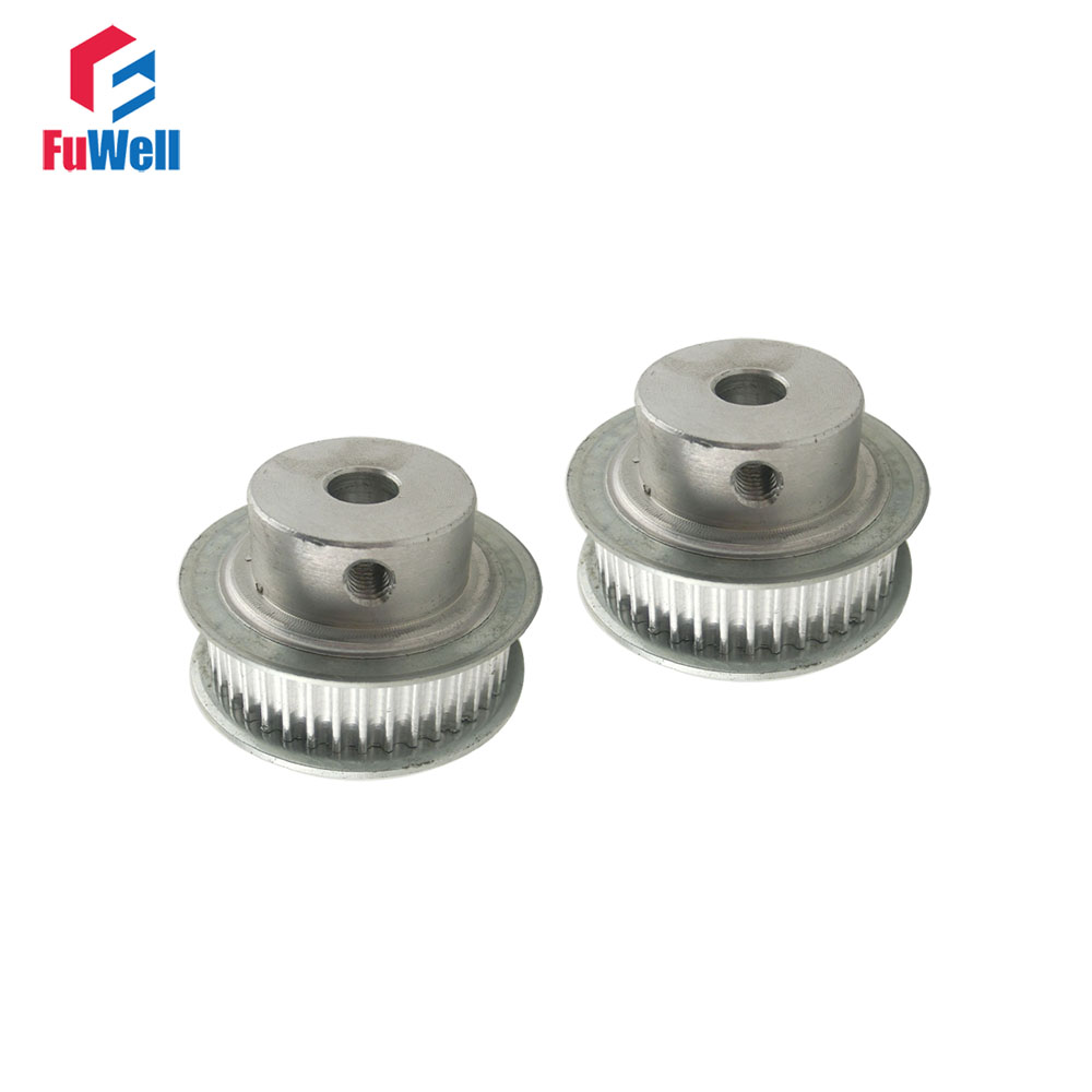 2pcs HTD3M 36T Timing Pulley Inner Bore 5/6/6.35/7/8/10/12/14/15/16mm 3mm Pitch 11mm Belt Width 36 Teeth Timing Belt Pulleys2pcs HTD3M 36T Timing Pulley Inner Bore 5/6/6.35/7/8/10/12/14/15/16mm 3mm Pitch 11mm Belt Width 36 Teeth Timing Belt Pulleys