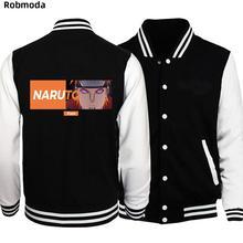 дешево!  Наруто какаши японский аниме мужская куртка бейсбол одежда мужские куртки пальто для мужчин молния �