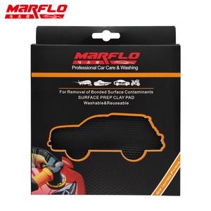 Image 5 - MARFLO Car Wash Magic Clay Bar Pad Mitt Sponge Polishing Pad before Auto Care Wax Applicator Car Paint Repair Auto Skin