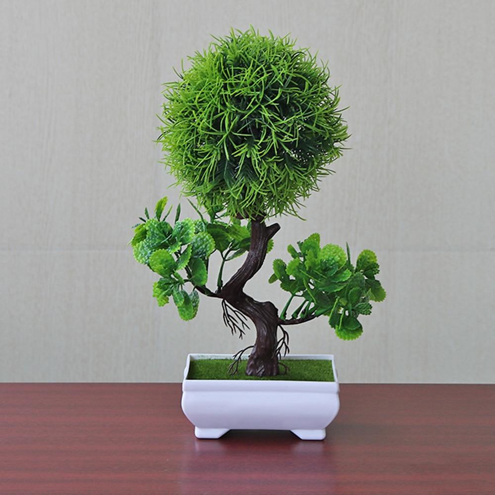 Имитация горшков растения искусственные цветы растение садовое украшение легкий Snapdragon мяч Мода - Цвет: green