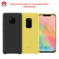 100% Original Official HUAWEI Mate 20 Pro Case Comfortable silicone protection back cover Huawei Mate 20 Case