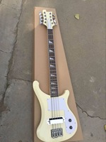 Wholesale New Cnbald 4003 8 String Electric Bass Guitar Mahogany Body/Neck In Cream160905 15
