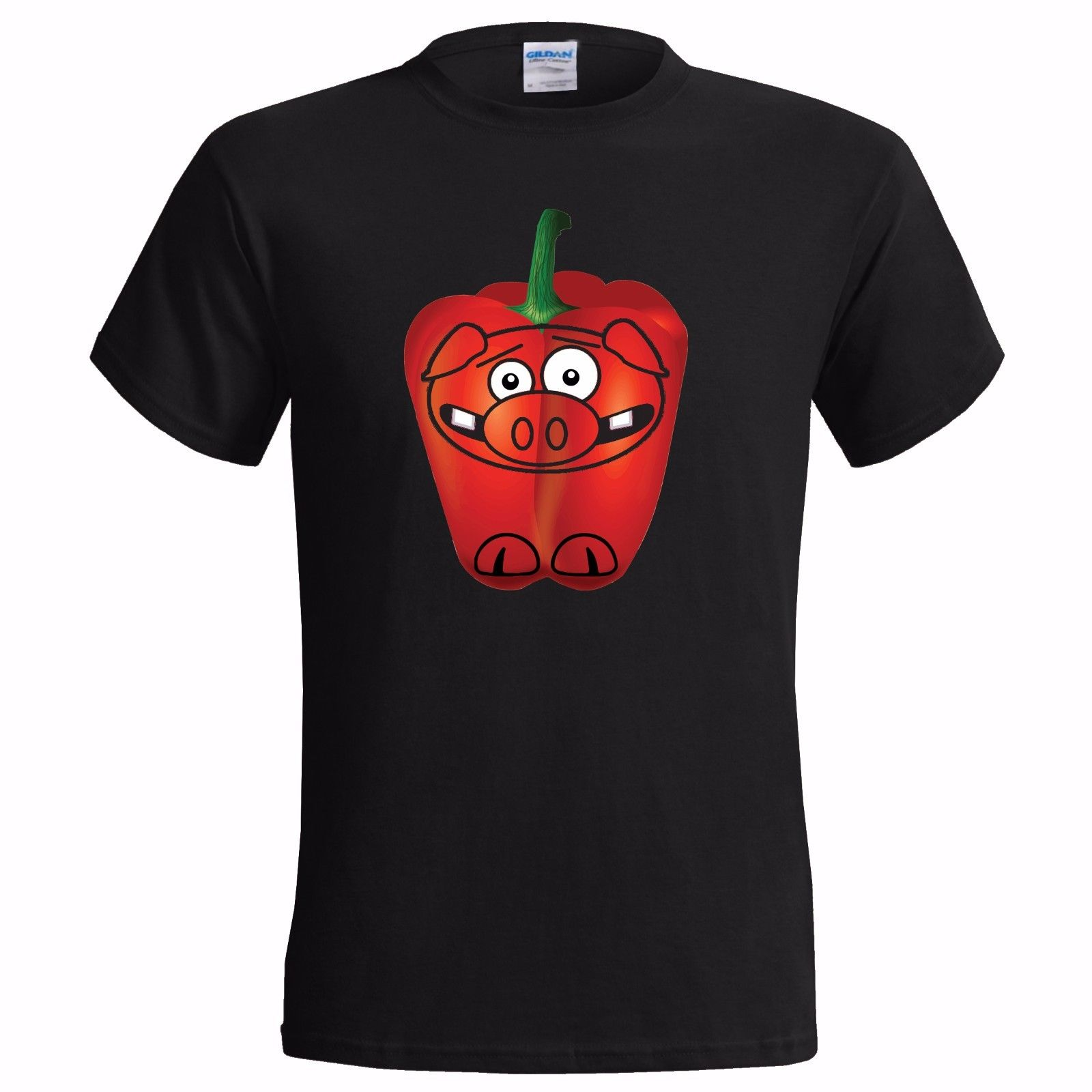 A PEPPER PIG BAD JOKE FUNNY MENS T SHIRT PUN SPOOF KIDS TV TELEVISION CARTOON