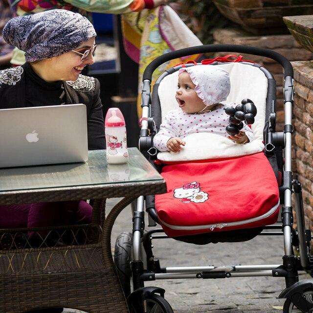 free shipping  Rushed baby Sleeping Bag, Baby Stroller Sleeping Bag Winter Warm Envelope For  footmuff for wheelchair