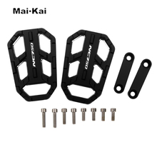 MAIKAI Motorcycle Accessories FOR HONDA NC750 NC 750 2012-2019 CNC Aluminum Alloy Widened Pedals