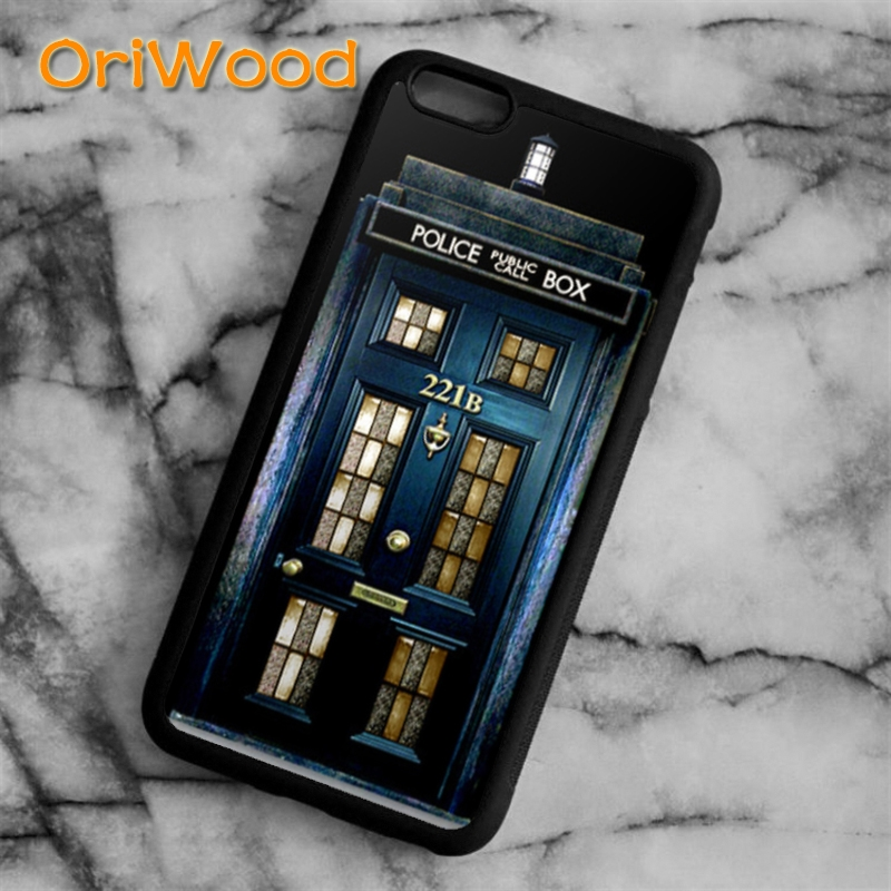 Fitted Cases Oriwood Tardis Doctor Who Police Box Case Cover For Iphone 6 6s 7 8 Plus X 5 5s Se Samsung Galaxy S6 S7 Edge S8 Plus Note8 Shell