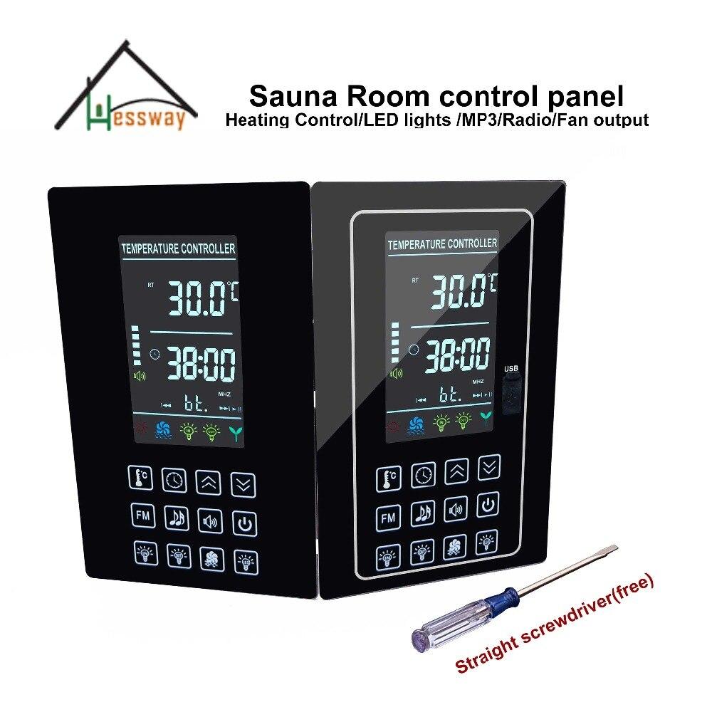 LCD USB port 6 kW-os digitális szaunavezérlő szaunafűtés - Mérőműszerek - Fénykép 2