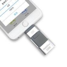 Флешка 128 Гб OTG вращающийся флэш-накопитель usb флэш-накопитель 16 ГБ 32 ГБ 64 ГБ флеш-накопитель usb 2,0 u диск для iphone/ipad/ipod ключ