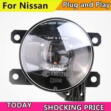 doxa Car Styling FOR VALEO Original Fog Lamp for Nissan Tiida X-GFAR NV200 Sylphy X-TRAIL LED Light