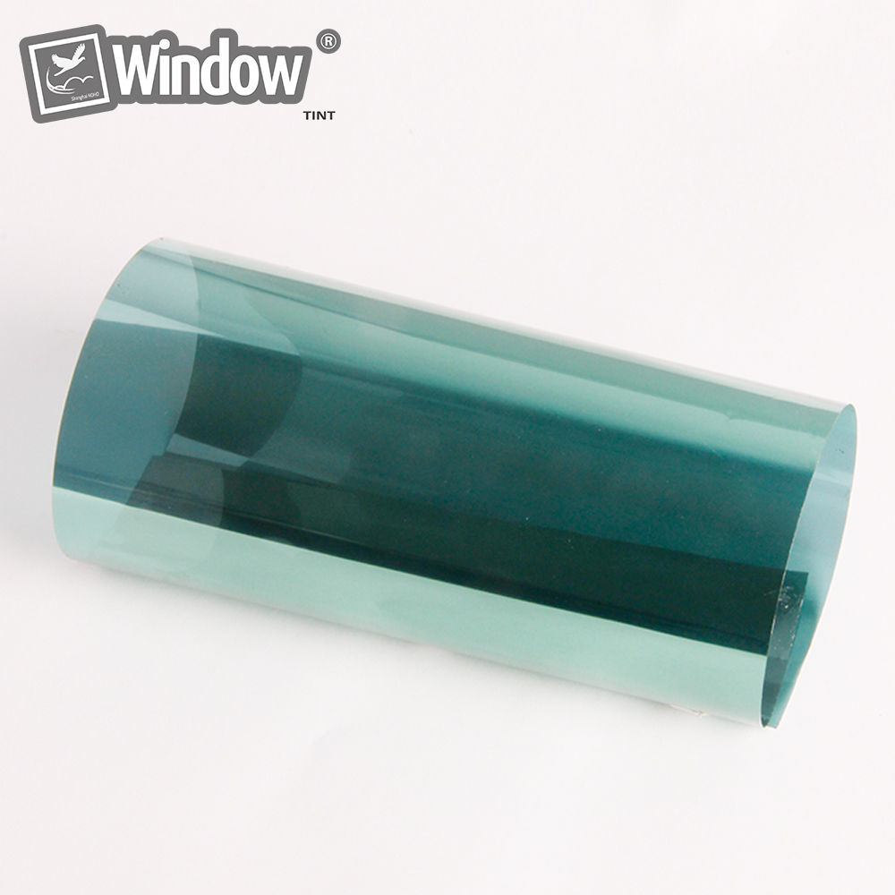 2017 New Arrival Home Mirror Tint Privacy Tint Green color 1.52x10m/Roll 2ply Home window Tints