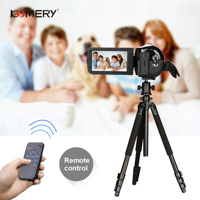 KOMERY Digital Video Camera Full HD 1080P Portable Camcorders 24 MP 16X Digital Zoom 3.0 4