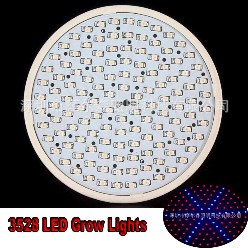 New Arrival 15W E27 126smd 3528 SMD Red Blue LED Plant Grow Light Lamp Garden Indoor Bulb AC85-265V x 10pcs