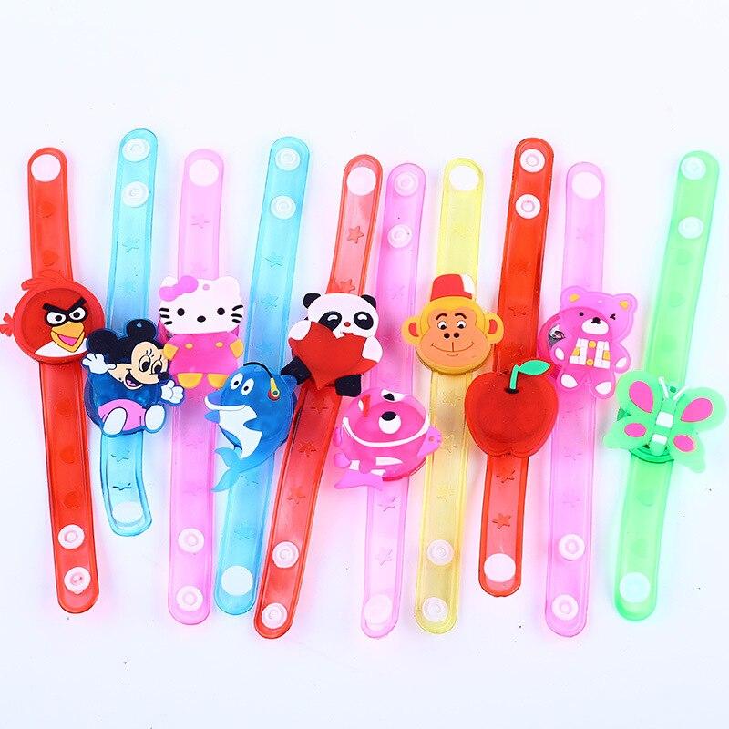 Novelty & Gag Toys Luminous Bracelet Creative Children's Watch Flash Wrist Luminous Toys Kids Gifts/Baby Toys For Children/Kids