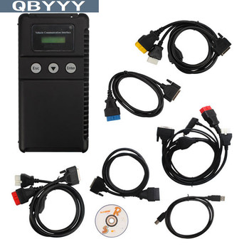 QBYYY 1pc for Mitsubishi MUT III MUT-3 for MITSUBISHI FUSO V2012 With CF Card Multi-Use Tester-III MUT-III scanner DHL ship