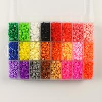 Hama Beads Perler Beads Fuse Beads 5mm Set Of 24 Color 5500pcs Pegboard 5 Iron Paper