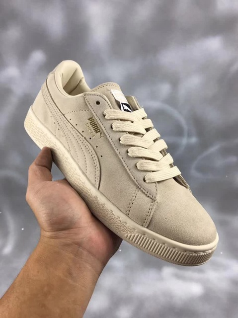 detailed look dc001 3422e Aliexpress.com : Buy 2018 Original PUMA Basket Heart Patent Women's  Sneakers Suede Satin Badminton Shoes size 36 44 from Reliable Badminton  Shoes ...