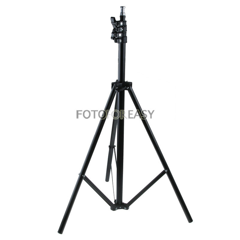 195cm 6 4 Photography Light Stand Tripod For Photo Studio Video Flash Lighting