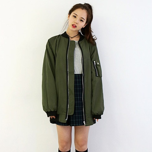 Aliexpress.com : Buy new girls bomber jacket coat baseball loose ...