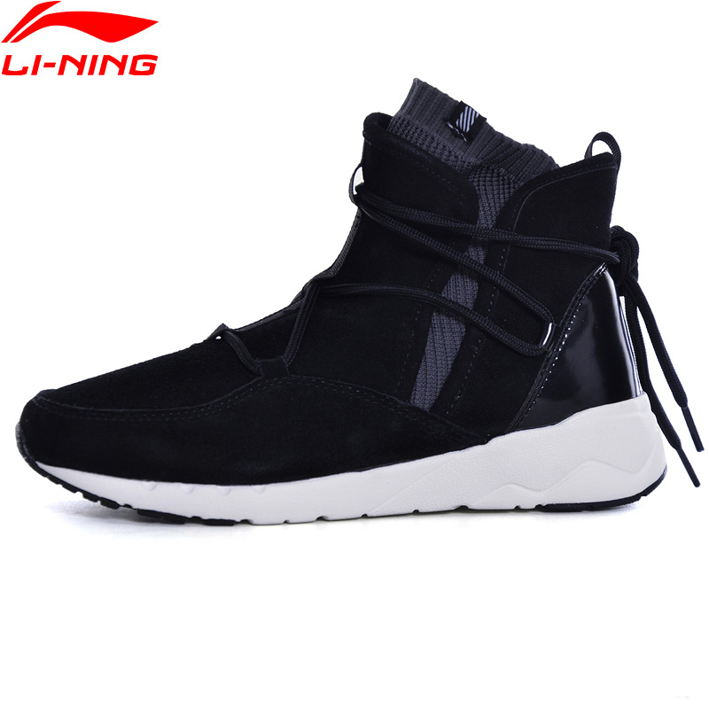 Li Ning 2018NEW Women Sport Walking Shoes Fitness Leisure Support Sneakers LiNing Sock Like Type Sports