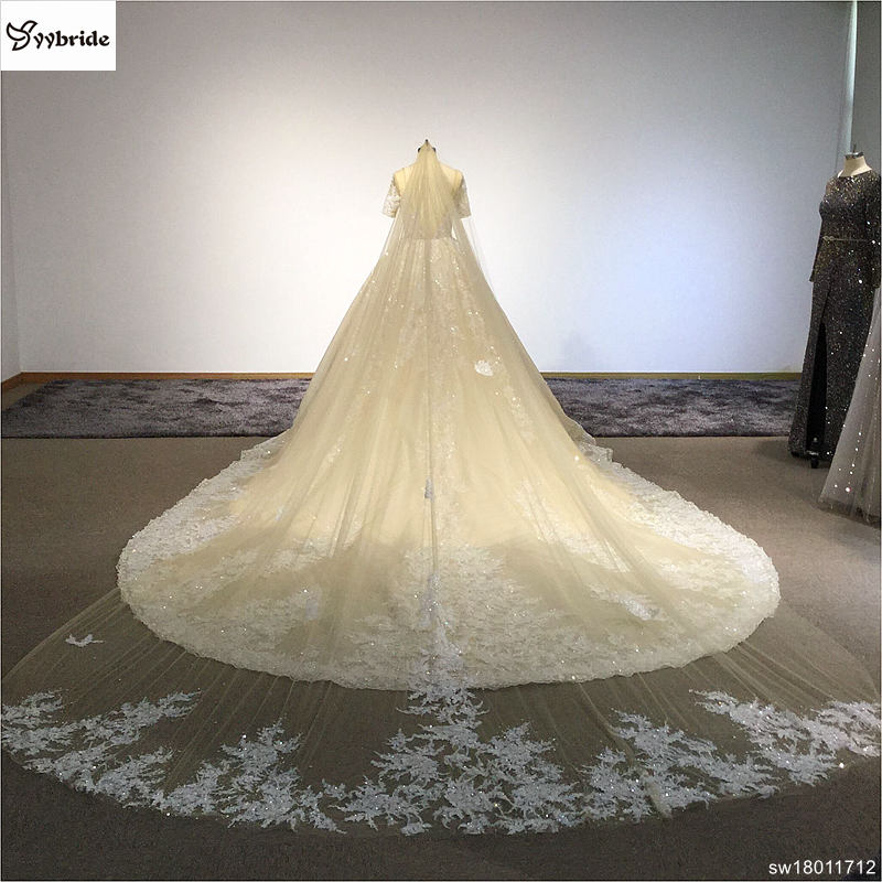 sw18011712-19  Surmount Design Elegant Lace Wedding Dresses Scoop Neck Long Sleeves Vintage Wedding Gown Floor Length Royal Train Wedding Dress HTB1KT2QolTH8KJjy0Fiq6ARsXXaZ