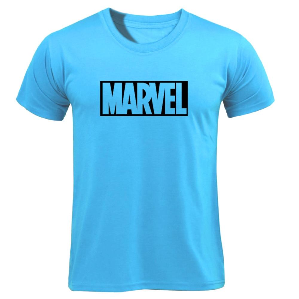 MARVEL T-Shirt 2019 New Fashion Men Cotton Short Sleeves Casual Male Tshirt Marvel T Shirts Men Women Tops Tees Boyfriend Gift 51
