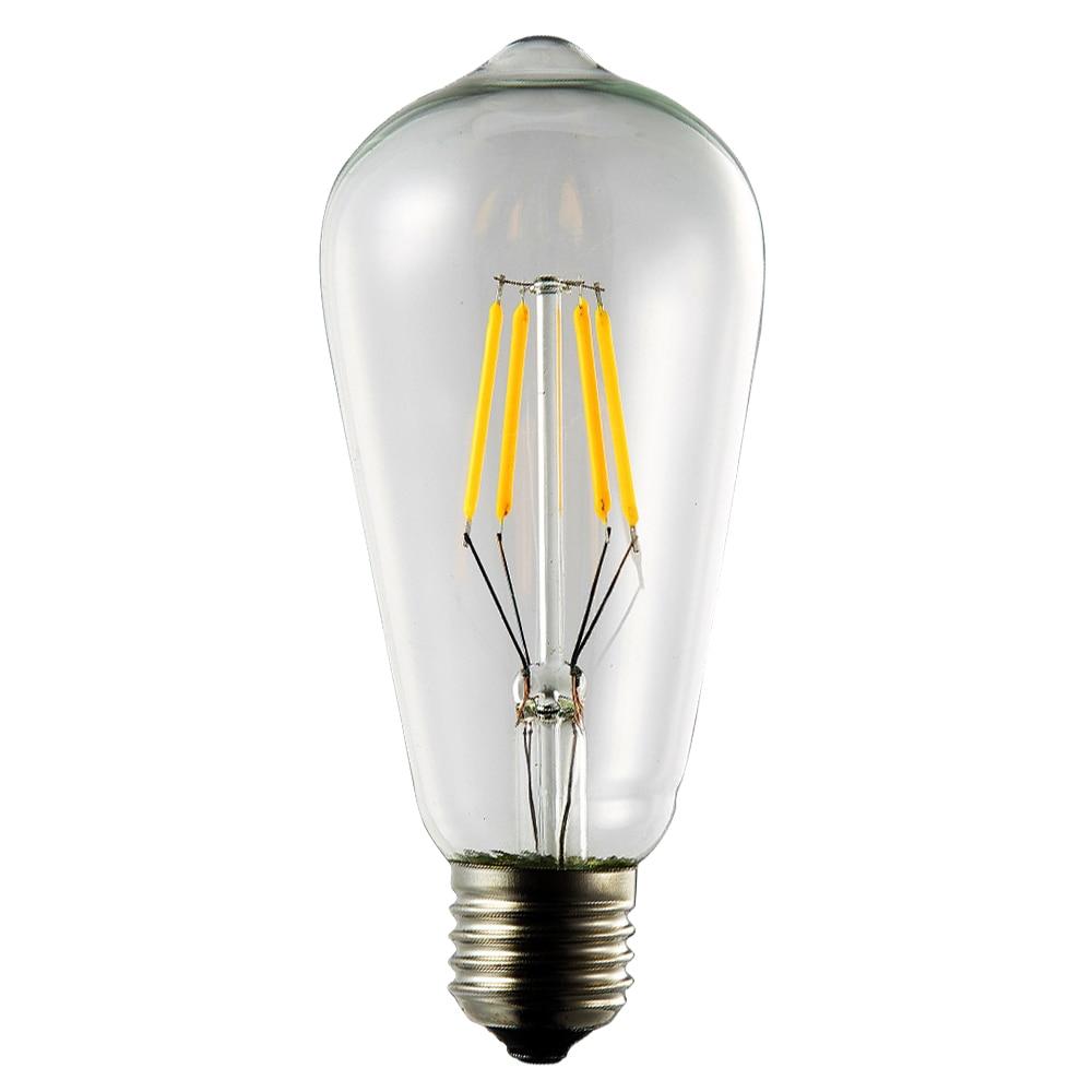 Retro Edison Bulb Chandelier Pendant Lights Squirrel Cage