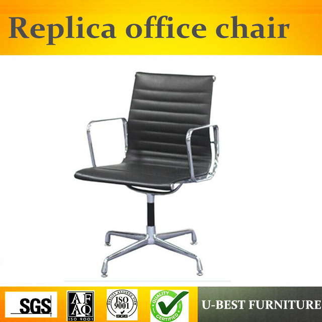 U Best Luxury Executive Aluminum Frame Genuine Leather Office Chair Comfortable Low Back Ergonomic