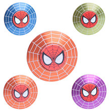 Spiderman Metalen Hand Fidget Spinners Marvel Top Spinner Speelgoed Beyblade Superhelden Metallic Vinger Gyro Kinderen Kerstcadeaus(China)