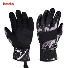 Boodun Waterproof Ski Gloves for Men Women Warm Touch Screen Skiing Snowboard Snowmobile Winter Outdoor Snow