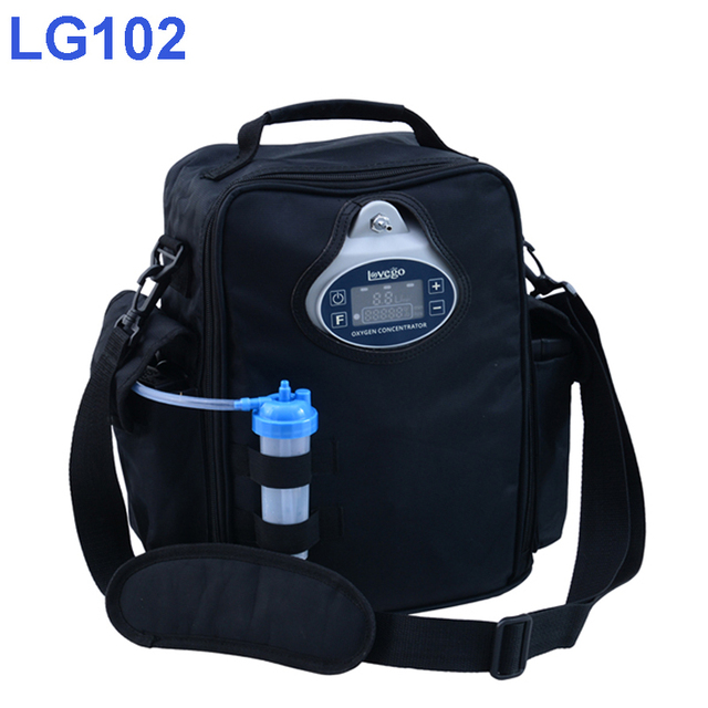 2 Hours Battery Time Lovego Portable Oxygen Concentrator LG102P with Extra Battery Option