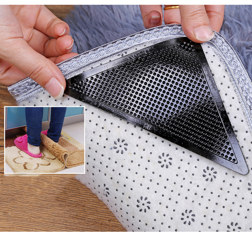 Adhesive Furniture Feet Floor Protector Pads Round Square Anti Skid Scratch 8D2