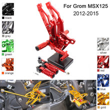 CNC Aluminum Adjustable Rearsets Foot Pegs For