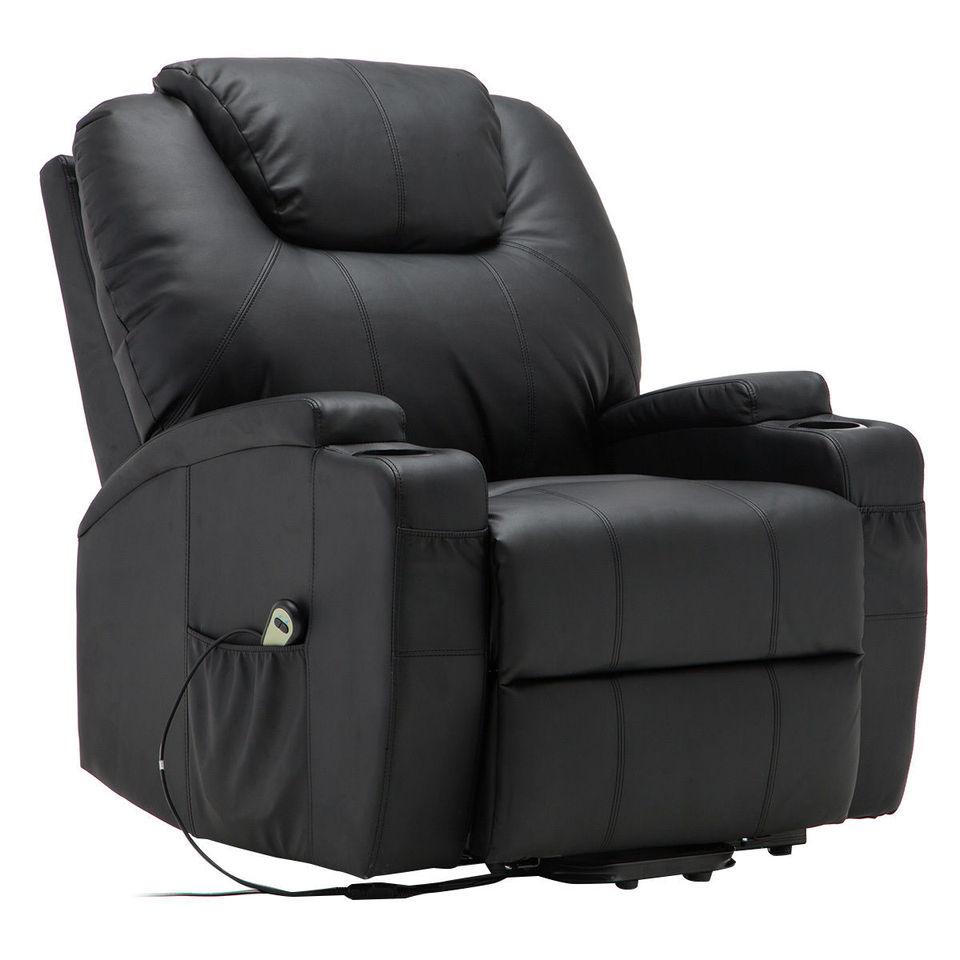 Giantex Electric Lift Power Recliner Chair Heated Massage Sofa