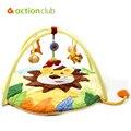 New Design esteira do jogo do bebê 0 - 1 ano brinquedo do bebê Tapete Infantil Crawling educacional Mat jogo de música cobertor ginásio jogar Lion Tapete