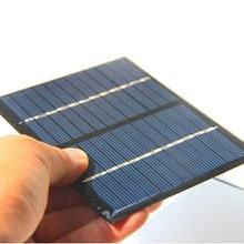 1,5 Вт 12 в модуль солнечной батареи поликристаллическая солнечная панель с кабелем провода DIY Солнечное зарядное устройство изучения 115*90*3 мм