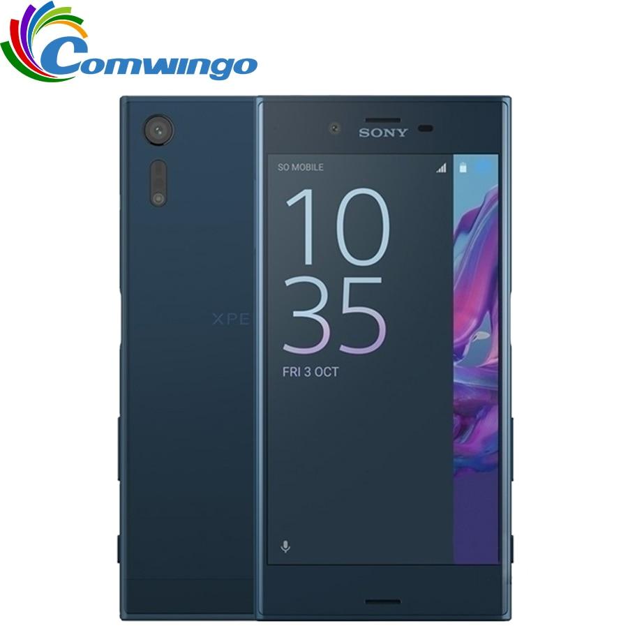 Débloqué Original Sony Xperia XZ F8331 3 gb RAM 32 gb ROM GSM 4g LTE Android Quad Core 5.2 IPS 23MP WIFI D'empreintes Digitales GPS 2900 mah
