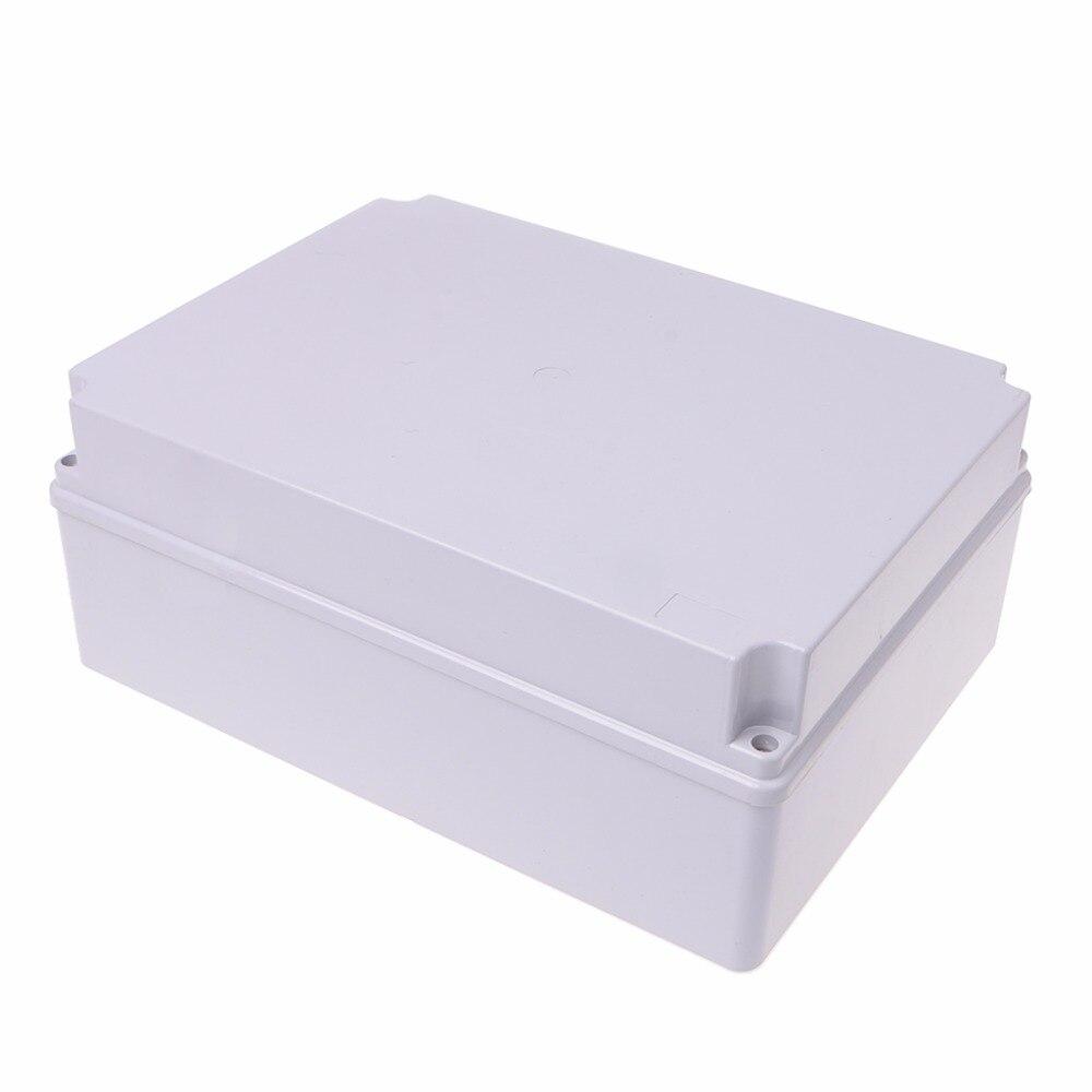 300x220x120mm ABS Enclosure Junction Box Adaptable IP55 Waterproof Weatherproof %328/328 free shipping 1piece lot top quality 100% aluminium material waterproof ip67 standard aluminium junction box 120 120 82mm