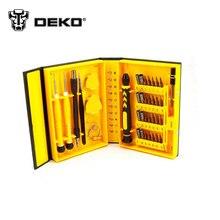DEKO 38 en 1 Caja Magnética de Múltiples Repair Tool Kit de Herramientas de Apertura Destornillador para Teléfonos Celulares iPhone 6 Plus 5S