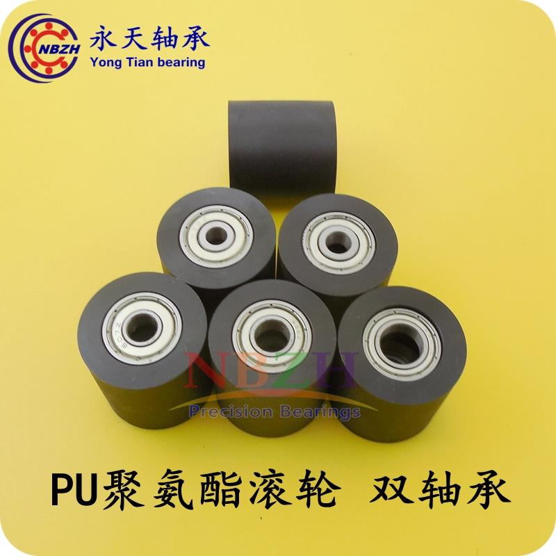 3D Printer Parts 10pcs/lot  bearing with 626 / 698  guide pulley wheel nylon platen roller BK3030 5*6*7*8*10*30*30 mm